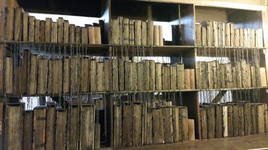 Херефорд, UK: Part of the Chained Library
