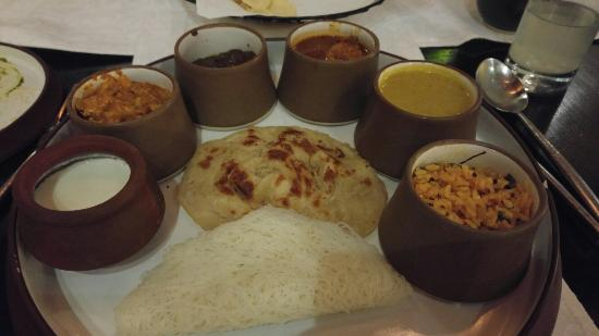 Excellent southern Indian kitchen