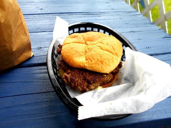 Decatur, MI: Regular hamburger , bag was full of extra hamburger.s.
