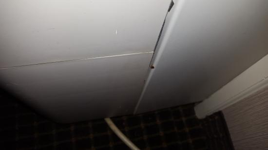 Turf Motel: roach coming from ac/heat unit