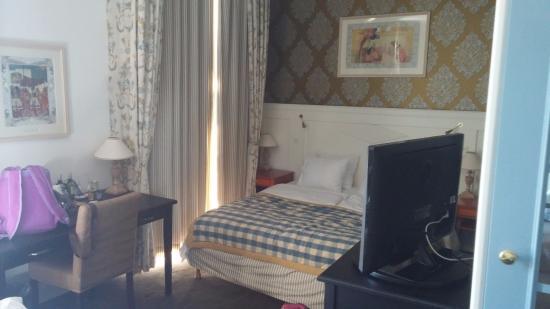 Copenhagen Plaza Hotel: Main Bed