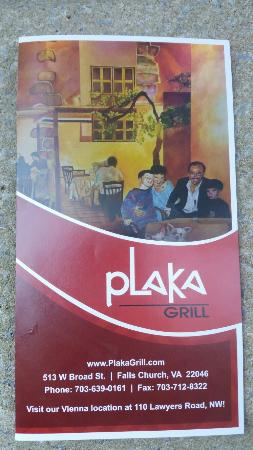 Photo of Mediterranean Restaurant Plaka at 513 W Broad St, Falls Church, VA 22046, United States