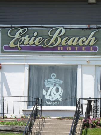 The Erie Beach Hotel: HAppy 70th!!!