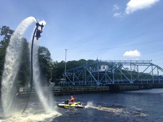 Lifted Flyboarding Picture Of