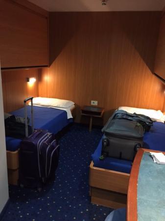 Moby Drea : Inside cabin Moby Otta