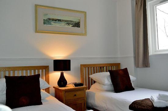 Seafield House Bed & Breakfast: Twin room (Leven)