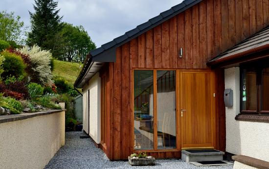 Seafield House Bed & Breakfast: Front door