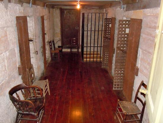Jail, Marshal's Home & Museum: The jail cells