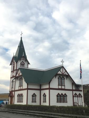 Husavik, Iceland: Chiesa
