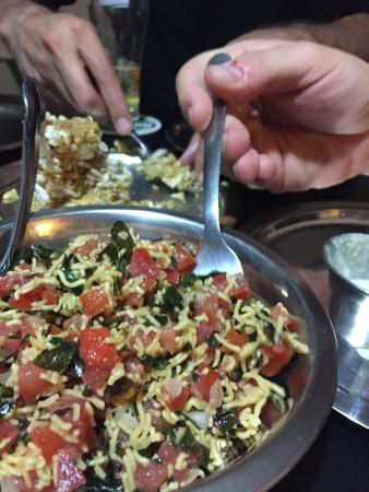 Curry Sultan: Ensalada inexplicablemente buena