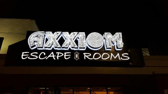 Axxiom Escape Rooms (an Exodus Escape Rooms company)