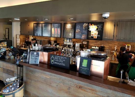 Interior service counter. - Picture of Starbucks, Orlando - TripAdvisor