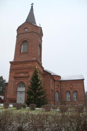Palkane, Finland: The Neo Gothic Style church