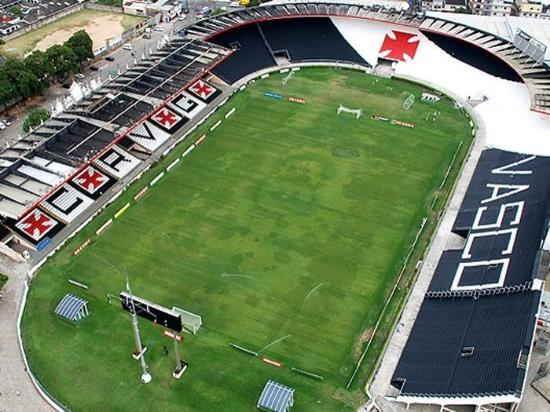 Sao Januario Stadium: Vista aérea do Estádio