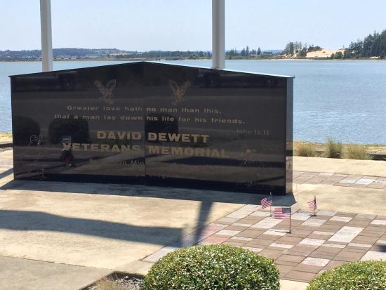 David Dewett Veterans Memorial Photo