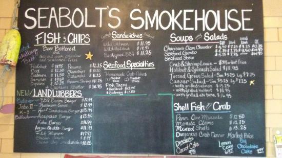 Oak Harbor, Waszyngton: Seabolts Smokehouse