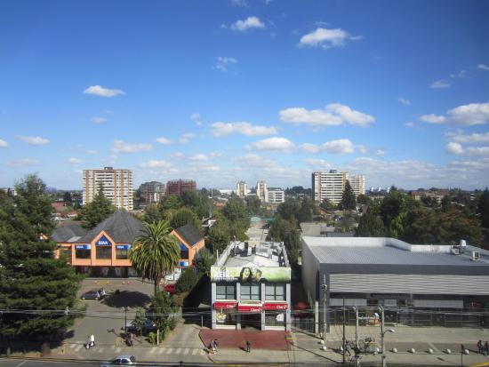 Hotel Dreams Araucania: Good view of Temuco