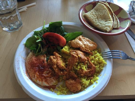 Paprika Cafe : Garlic chicken combo plate