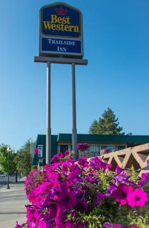Best Western Trailside Inn: Best Western Trailside Signage-