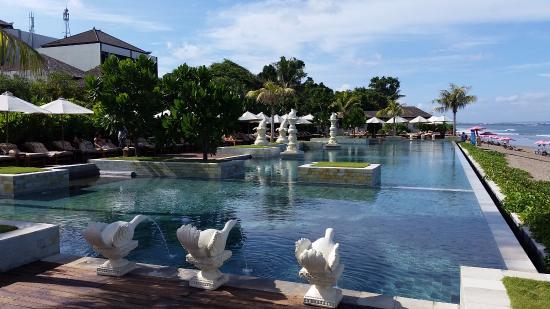 The Seminyak Beach Resort Spa Pool At