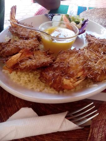 Orlando's Restaurante: son camarones con coco, es para los que nos gusta lo dulce.