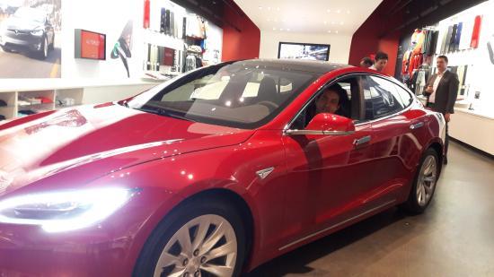 Tesla showroom houston