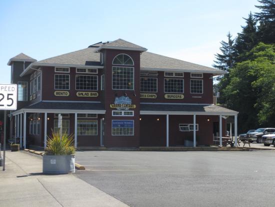 Waldport, Oregón: Grand Central Restaurant