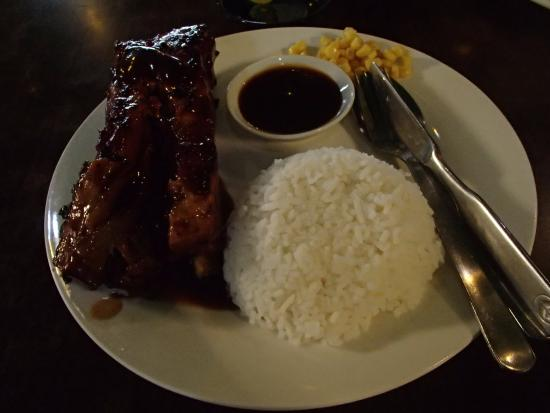 Lyndon's Worlds Worst Ribs and Awful Chicken : 230php for 500grams ( i think..)
