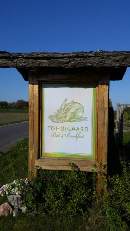 Tohøjgaard Bed & Breakfast: Outside