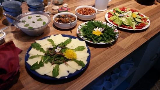 Tohøjgaard Bed & Breakfast: Breakfast