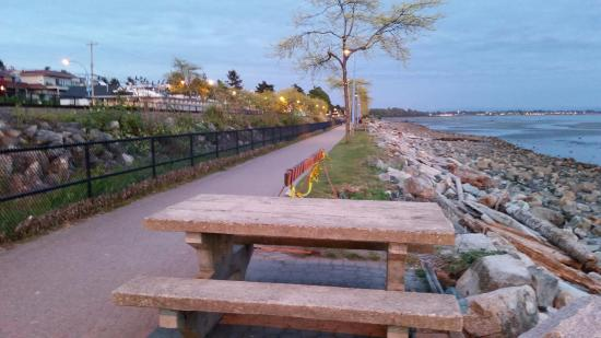 Image result for white rock promenade picnic tables
