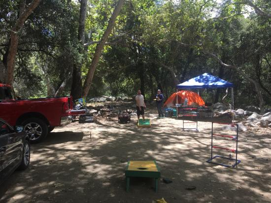 La Jolla Indian Campground: Camping at a great spot northeast of Escondido, CA.  Easy to get to and just off the road.
