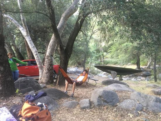 La Jolla Indian Campground : Camping at a great spot northeast of Escondido, CA.  Easy to get to and just off the road.