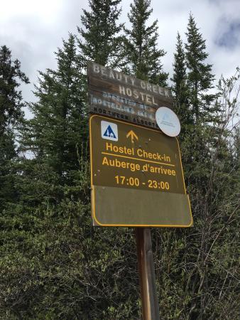 HI-Beauty Creek Wilderness Hostel Bild