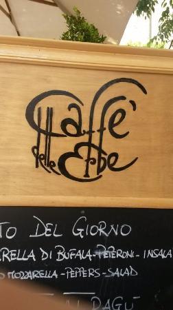 Castel San Gimignano, Ιταλία: お店の看板
