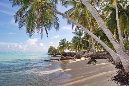 The beach in Bangaram