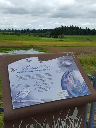 Sherwood, OR: Loved the interpretive signs.