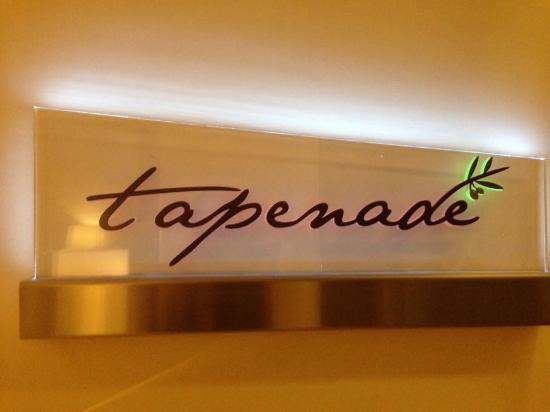 Tapenade: Sign