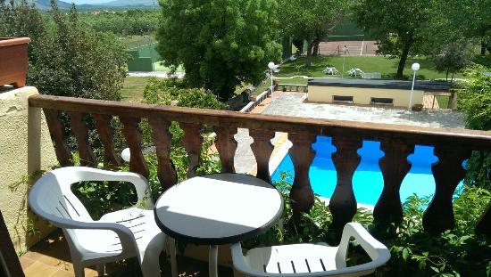 Hotel Las Gacelas: Vistas desde la habitación