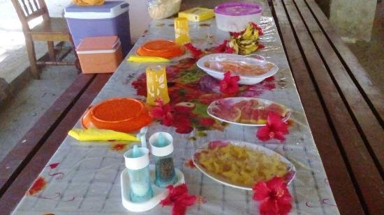 Praslin Island, Seychelles: Trip to Curieuse &St Pierre Island guest Birthday surprise!!!!!