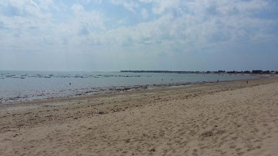 Une des plages de noirmoutier picture of camping le caravan 39 ile la gue - Camping la gueriniere noirmoutier ...