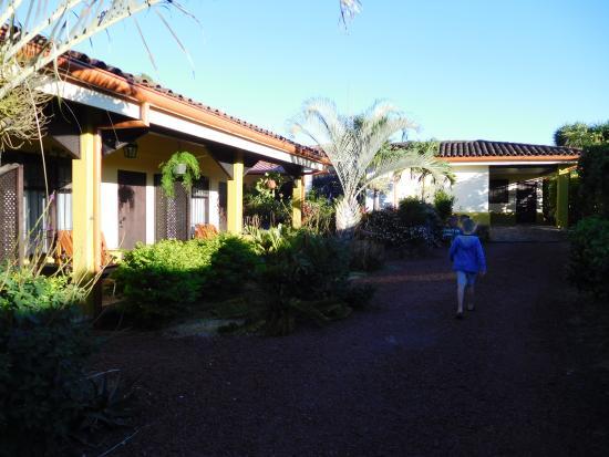 Rio Segundo, Costa Rica: Terrein van de 5-tal hotelkamers.