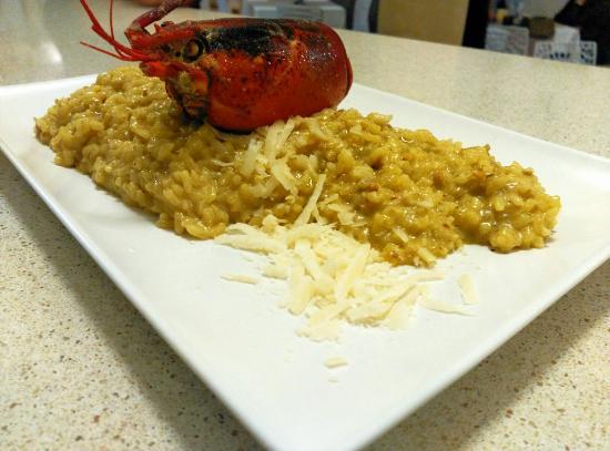 Gourmet Iberico : Risotto de marisco con bogavante