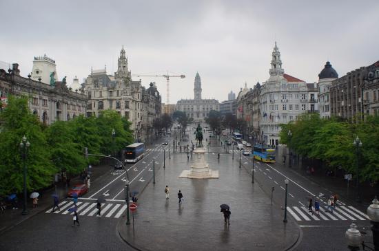 InterContinental Porto - Palacio das Cardosas: View from our balcony