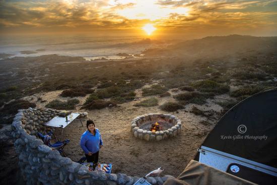Northern Cape, Afrika Selatan: Sunset @ Kwass se Baai campsite