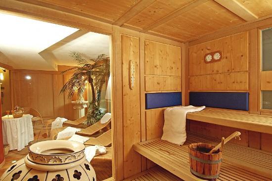 Hotel Foresta: Sauna