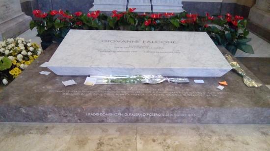 Tomba di Giovanni Falcone