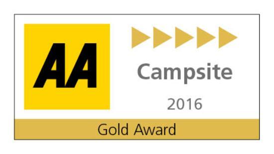Ballyness Caravan Park : AA Gold Award