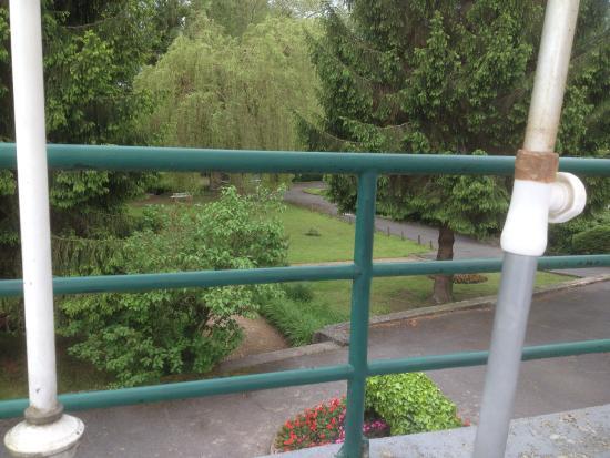 Orry-la-Ville, Frankrijk: vue de la terrasse sur le parc