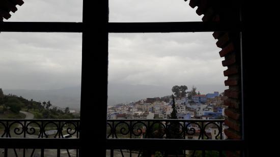 Hotel Al Kalaa: la vus est preneuse depuis les chambres vus sur la ville